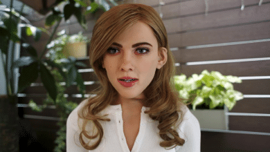 Photo of Scarlett Johansson Lookalike Robot Is 70% 3D Printed and It's No April Fools