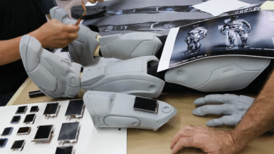 Photo of Legacy Effects 3D Prints the Alien Suit in Colony on a MakerBot Replicator Z18