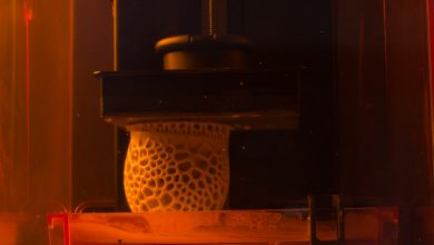 Photo of 3D Printable Ceramics Material by Tethon3D Used by Nervous Systems to 3D Print a Cup on a Form2