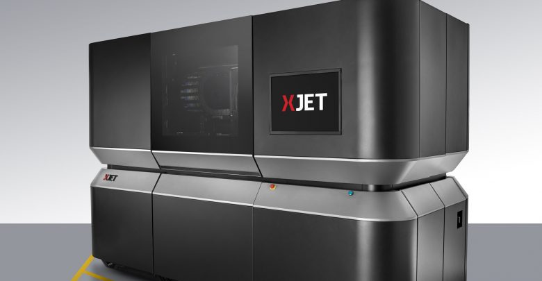 XJet Carmel NanoParticle Jetting 3D Printer