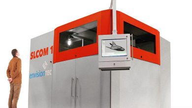 Photo of SLCOM 1 3D Printer Gets EnvisionTEC Into Industrial Woven Fiber Composites