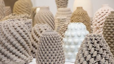 Photo of GCode.Clay Project by Emerging Objects Creates Clay Vessels and Smart Cladding with Gcode