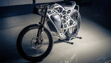 Photo of APWorks launches first-ever 3D printed motorcycle: the Light Rider