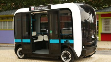 "Photo of Olli, Local Motors' latest ""mostly 3D printed"" vehicle, is driven by IBM Watson"