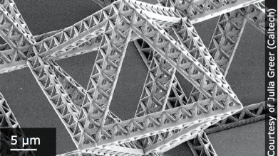 Photo of Nanoscribe Creates Smallest Ever Lattice Structures, Spermbots, and More