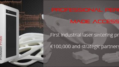 Photo of Prodways Presents the First Industrial Laser Sintering Printer at Under €100,000