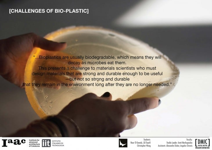Bioplastic From Orange Peels and Coffee Developed by IAAC to