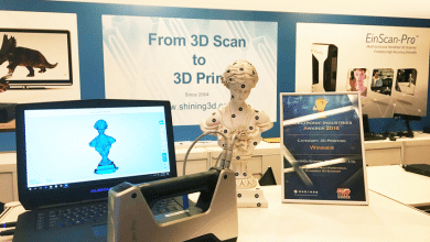 Photo of SHINING 3D EinScan-Pro 3D Scanner Named Winner of 2016 Electronic Industries Award