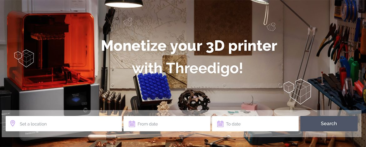 Threedigo Launches as a New Sharing Economy Online App for 3D