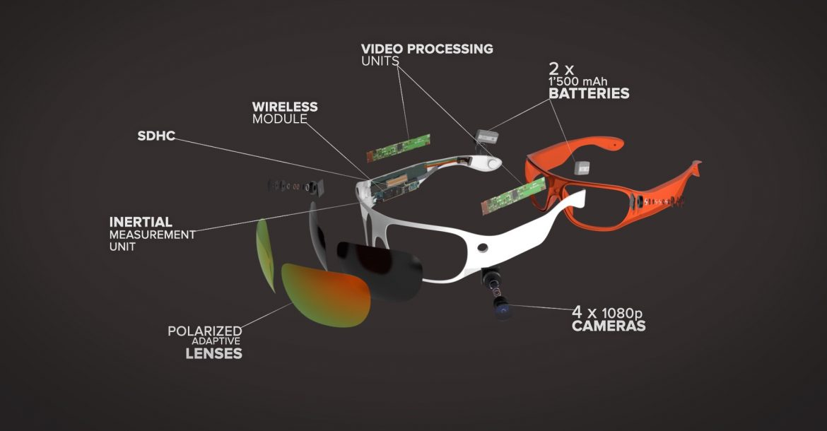 1f2cf1842ed6 Mixed Reality Meets Wearable Tech  360° Video Recording Sunglasses From  ORBI - 3D Printing Media Network