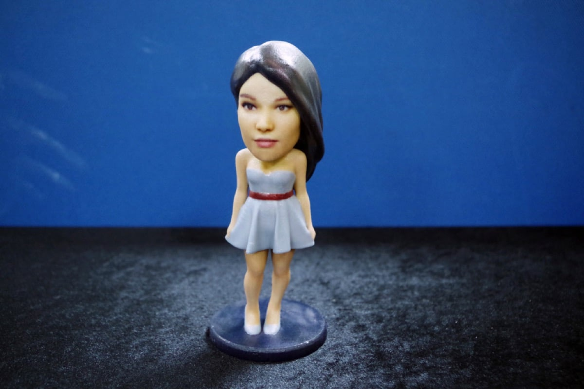 5 3D model printed with 3DPandoras