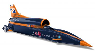 Photo of Renishaw produces a prototype nose tip for the BLOODHOUND supersonic car