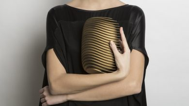 Photo of Bern by Maison 203, the New 3D Printed Clutch Designed by Odo Fioravanti