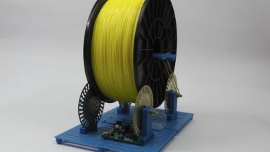 Photo of Real Kickstarters: the Filament Roller, an All-in-one Spool Holder with IR Sensor & Alarm
