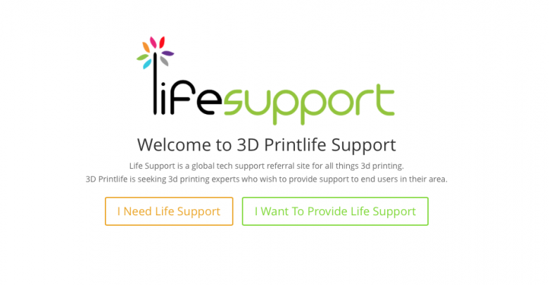 """Photo of 3D Printlife Launches Online 3D Printing Social Support Network """"Life Support"""""""