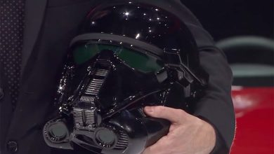 Photo of Gentle Giant Studios Delivers Death Trooper Replica Helmets for Nissan Rogue One