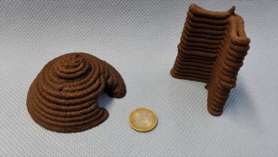 Photo of The ESA 3D Prints with Simulated Mars Regolith Too
