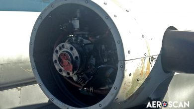 Photo of Beechcraft 99 Cargo Plane Engine Cowl Modified with 3D Scanning
