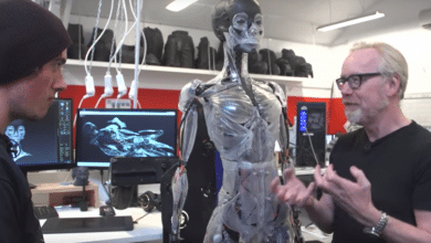 Photo of Take a Look at the Ridiculously Detailed 3D Printed Endoskeleton from Ghost in the Shell (Video)