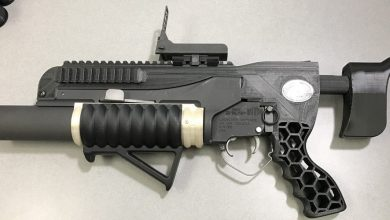 Photo of US Army fires 3D printed ammo out of RAMBO 3D printed grenade launcher