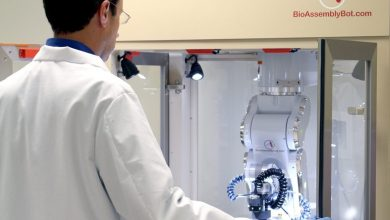 Photo of One to One with Michael Golway, inventor of the BioAssemblyBot 6-Axis 3D Bioprinter