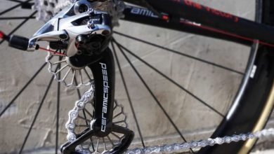Photo of CeramicSpeed Introduces 3D Printed Titanium Oversized Pulley and Outboard Headset to Bespoke Bike