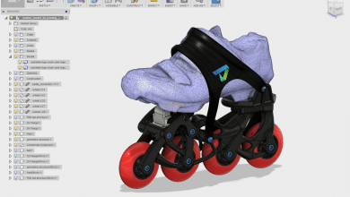 Photo of Autodesk and Stratasys Collaborate on Generatively Optimized 3D Printed Rollerblades