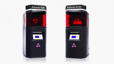 Photo of Ackuretta Announces Global Availability of its Ackuray A96 and A135 DLP 3D Printers
