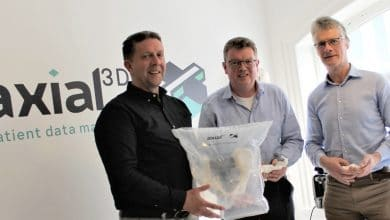 Photo of axial3D Secures £500k in Funding to Grow 3D Printed Anatomical Models Business