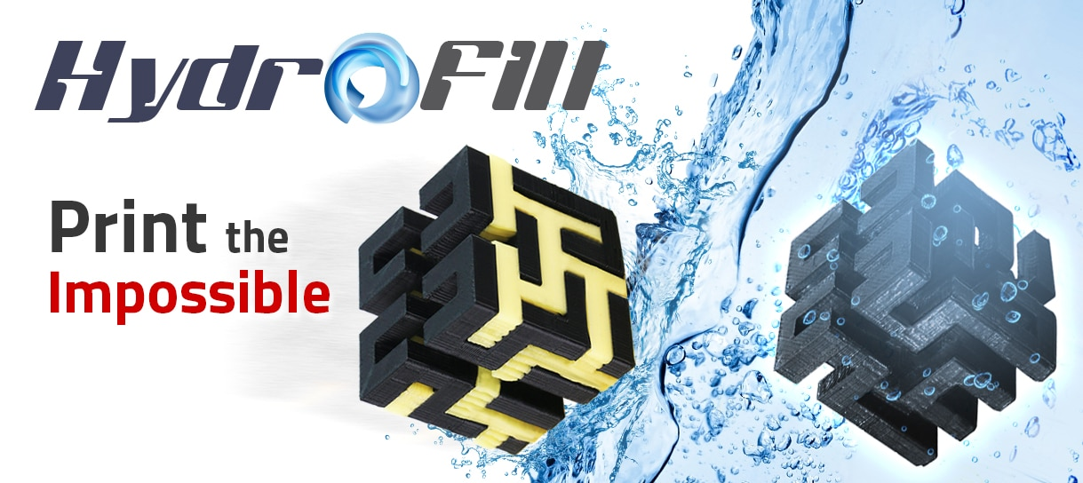 Take A Look At Airwolf 3d Unique Water Soluble Hydrofill Filament 3d Printing Media Network