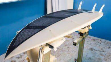 Photo of Proto3000 Designs and Creates a 3D Printed Surfboard for RedBull