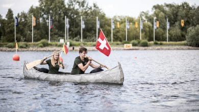Photo of SkelETHon 3D printed concrete canoe wins first prize at German regatta