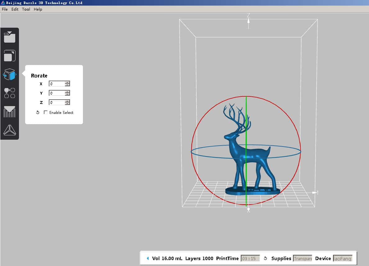 Shenzen Based Dazz 3d Gets Ready To Launch S130 Dlp Printer Diagram Software Is Developed With Easy Navigation Which Provides Power Functions Such As Support Generation Algorithm And Slicing We Dedicated User Needs