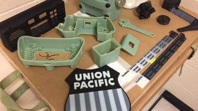 Photo of Union Pacific Turns to 3D Printing to Help Modernize America's Railroads