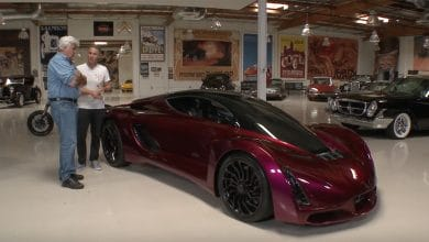 Photo of Jay Leno Test Drives Divergent Blade, the Most 3D Printed Supercar Yet (Video)