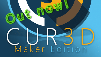 Photo of CUR3D Maker Edition Released on Steam