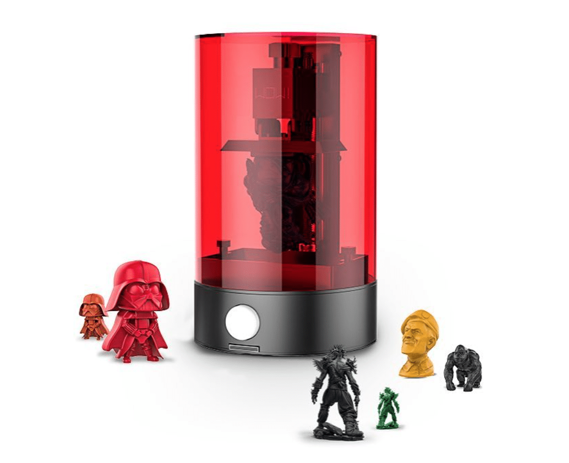 one of the very first renders of the Sparkmaker 3D printer