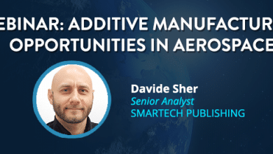 Photo of 3DPBM's co-founder to hold webinar on AM for aviation, space and drone production