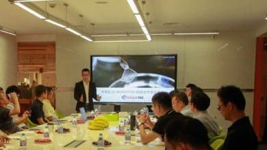 Photo of 12 Chinese Resellers of the EnvisionTEC 3D Bioplotter Meet at GDI