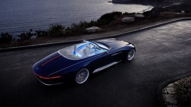 Photo of Vision Mercedes-Maybach 6 Cabriolet is an electric car stunner