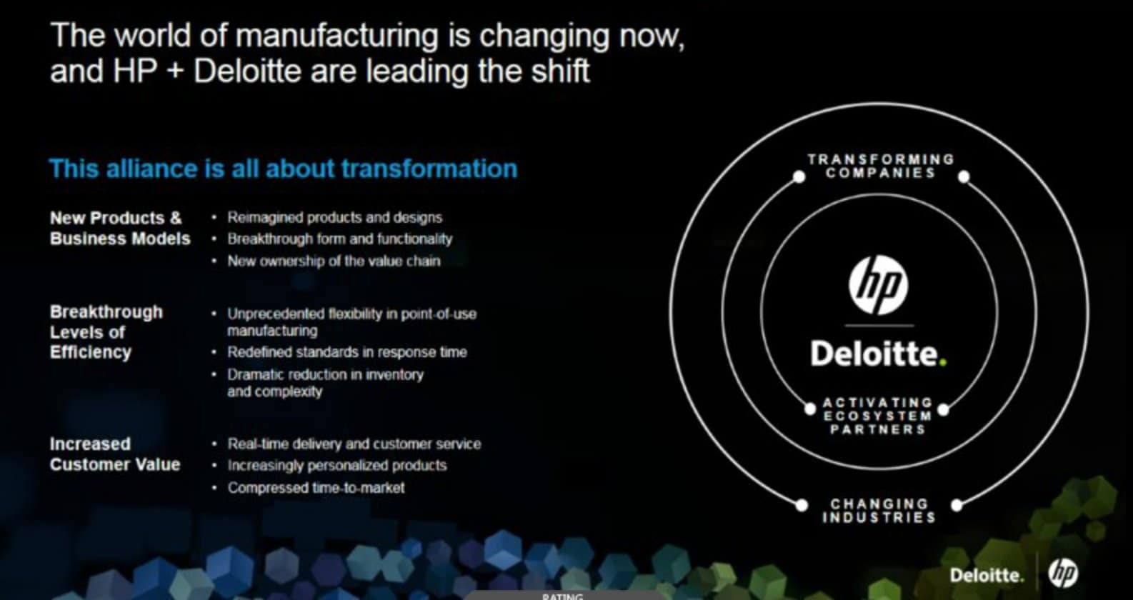 HP and Deloitte Partner on Implementation of MJF 3D Printing