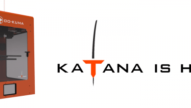 Photo of Oo-Kuma Launches KATANA 3D Printer Range
