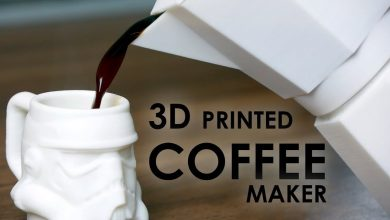 Photo of Crazy Guy 3D Prints Functioning Moka Coffee Maker with Volcano PLA (Video)