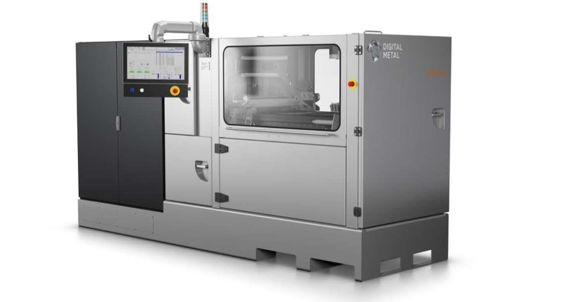 digital metal launches dm p2500 high precision metal binder jetting