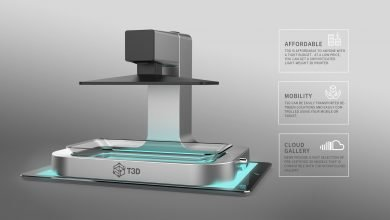 Photo of New T3D Smartphone 3D Printer Launches on Kickstarter