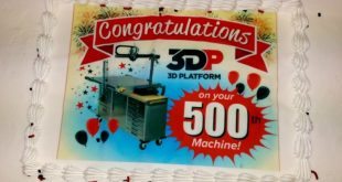 3D Platform Ships 500 Large Format Printers in Three Years