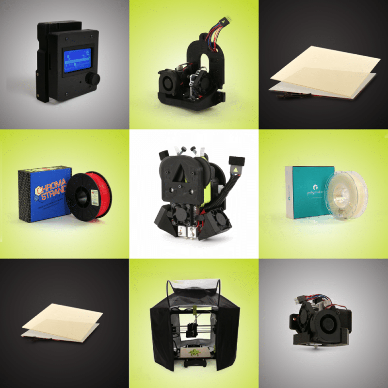 Lulzbot New Products grid