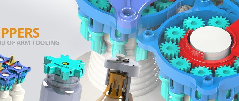 Photo of EOS and Anubis 3D Develop 3D PrintedEnd-of-arm for Smarter Packaging