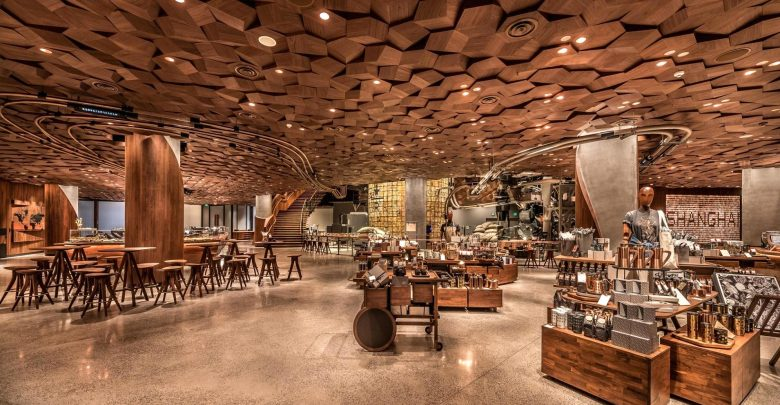 First 3d Printed Starbucks Coffee Bar Opens In Shanghai
