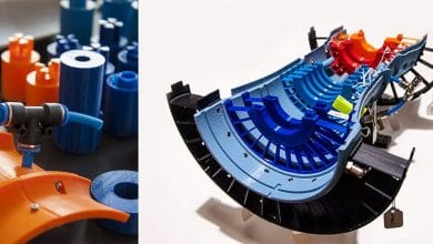 Photo of 3D Hubs and Rolls Royce Work with Students on JetX 3D Printed Functional Jet Engine Model